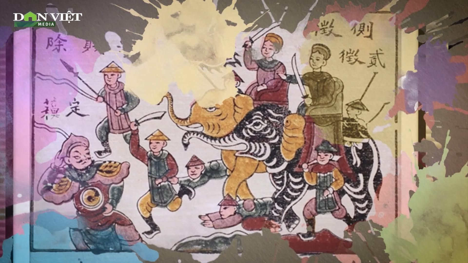 Tranh Đông Hồ, ẩn chứa nét đẹp sâu xa văn hóa Việt