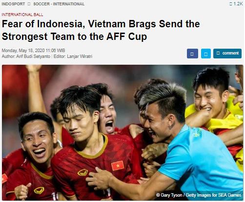Ảo tưởng thái quá về sức mạnh, báo Indonesia thách thức ĐT Việt Nam - Ảnh 2.