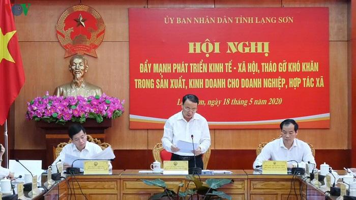 Lạng Sơn: Tập trung 5 nhóm giải pháp gỡ khó cho doanh nghiệp và hợp tác xã - Ảnh 2.