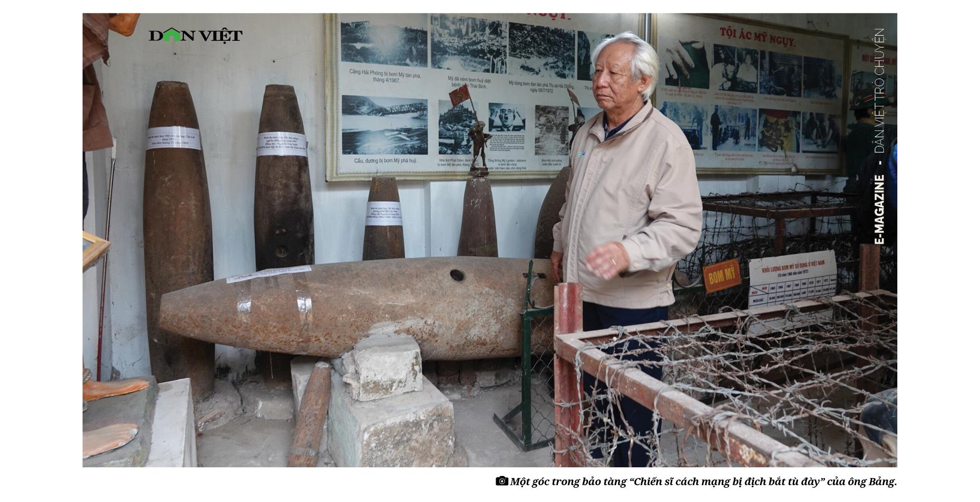 Ông Lâm Văn Bảng: Mỗi hiện vật ở đây đều là xương, máu đồng đội tôi - Ảnh 9.