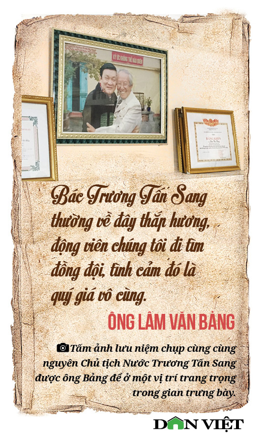 Ông Lâm Văn Bảng: Mỗi hiện vật ở đây đều là xương, máu đồng đội tôi - Ảnh 10.