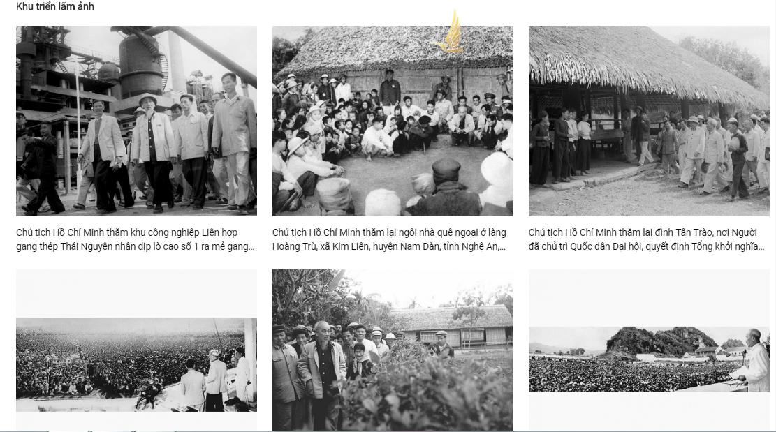 Triển lãm sách trực tuyến kỷ niệm 130 năm Ngày sinh Bác Hồ - Ảnh 3.