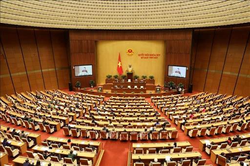 Sáng nay khai mạc kỳ họp thứ 9 Quốc hội khóa XIV - Ảnh 1.