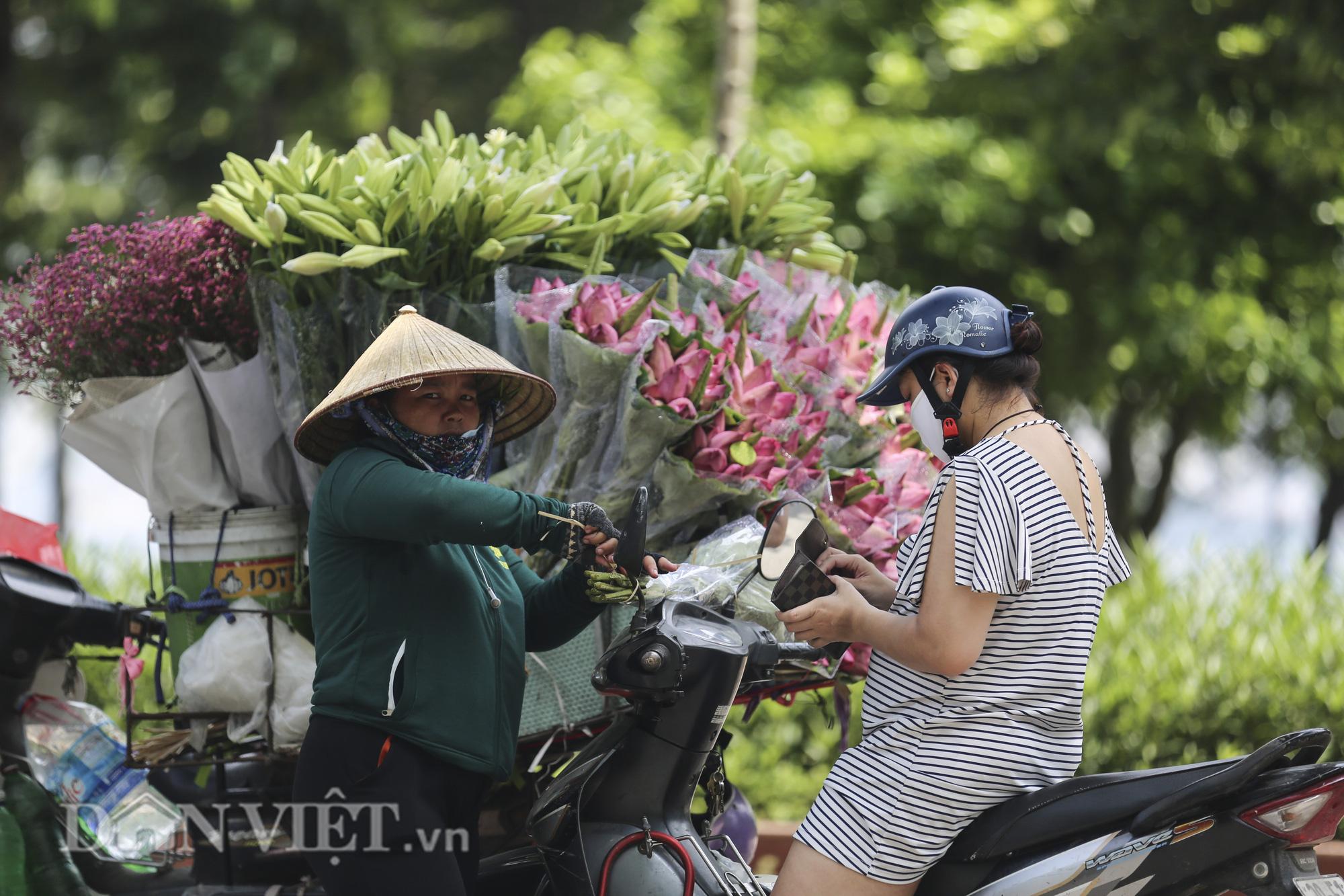 Sen đầu mua khoe sắc, len lỏi khắp phố phường Hà Nội - Ảnh 5.