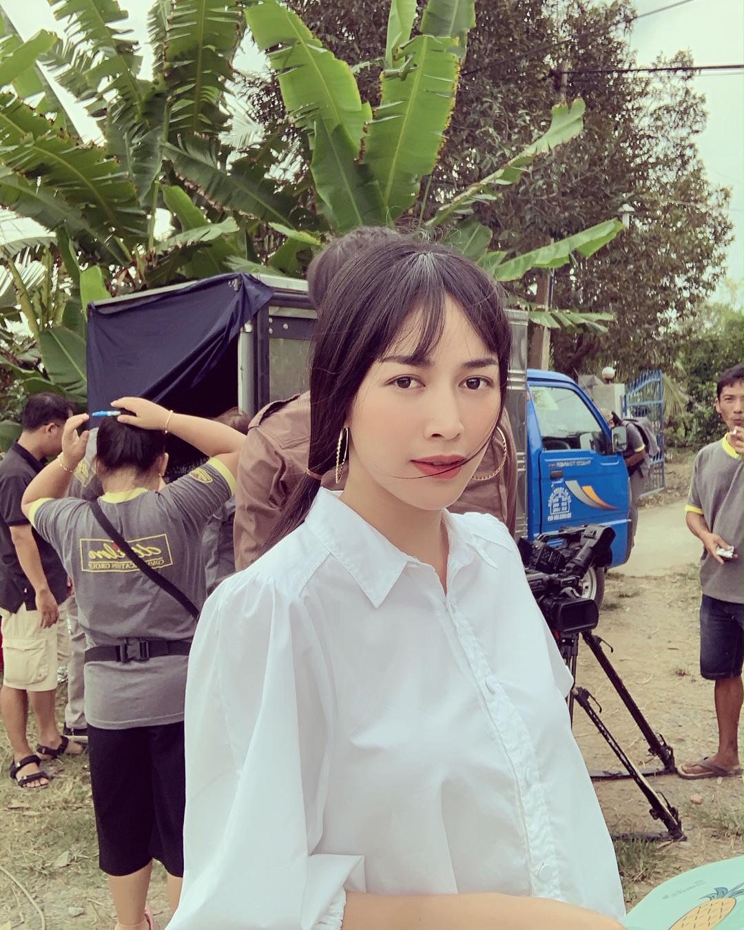 Mai Thanh Hà đổ máu trên trường quay 'Mẹ ghẻ' vì đánh ghen quá đạt - Ảnh 1.