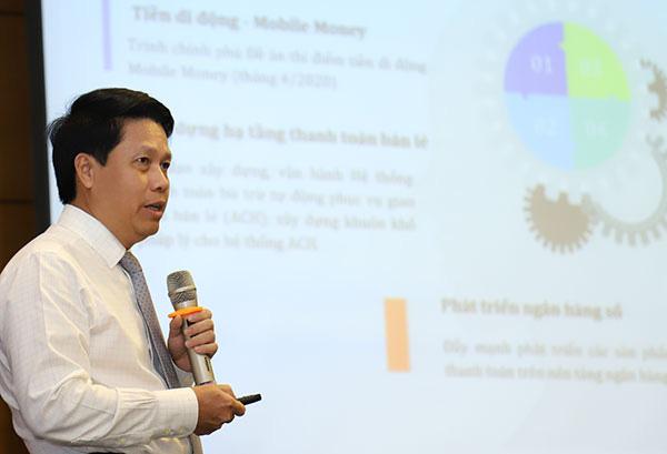 Vụ trưởng Vụ Thanh toán Phạm Tiến Dũng tiết lộ lý do Mobile Banking Việt Nam không thua kém Mỹ - Ảnh 2.