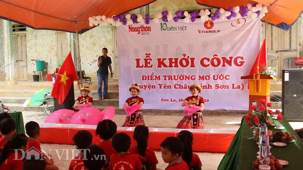 Sơn La: Khởi công điểm trường mới từ Báo NTNN/Điện tử Dân Việt - Ảnh 6.