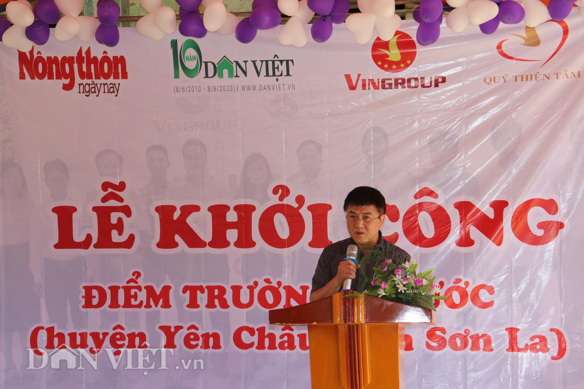 Sơn La: Khởi công điểm trường mới từ Báo NTNN/Điện tử Dân Việt - Ảnh 2.