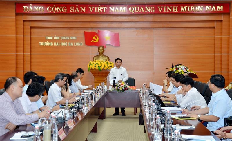 Vì sao Quảng Ninh bổ nhiệm chủ tịch tỉnh kiêm hiệu trưởng trường Đại học? - Ảnh 2.