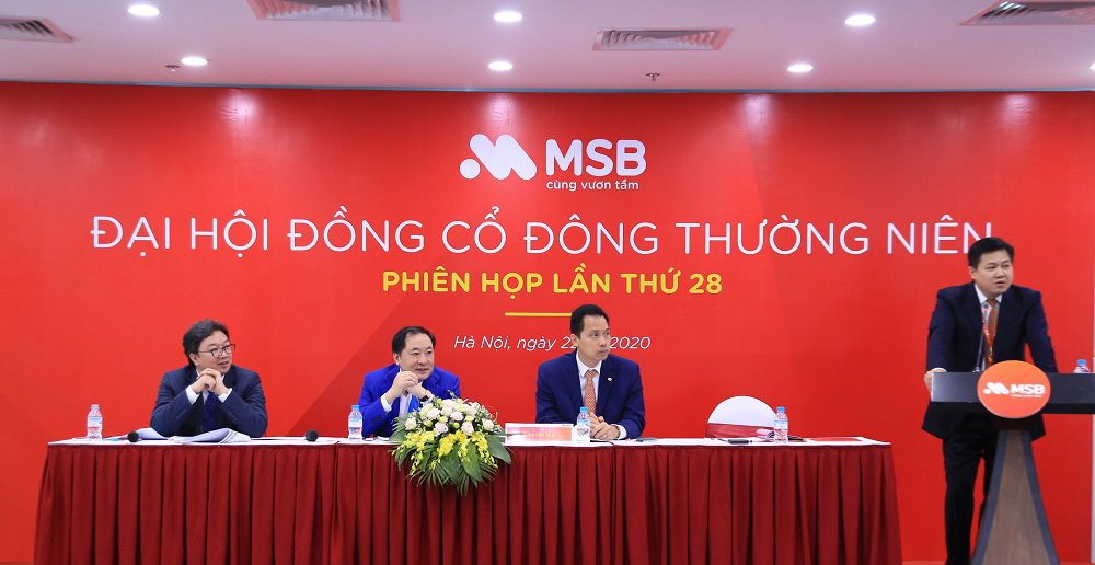 Đại hội cổ đông MSB đặt mục tiêu lợi nhuận năm 2020 đạt 1.439 tỷ - Ảnh 2.