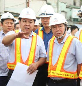 Tháng 10 hoàn thành dự án chống ngập cho TP.HCM - Ảnh 1.