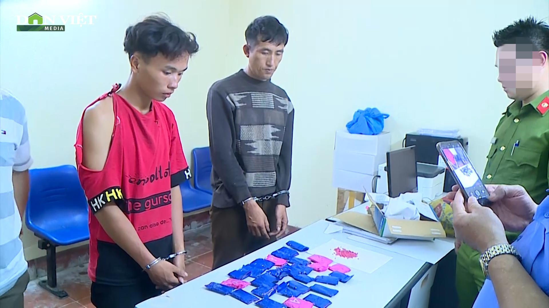 Sơn La: bắt 02 đối tượng thu gần 6000 viên ma túy tổng hợp