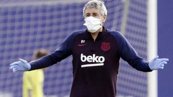 HLV Setien muốn Neymar trở lại Barca