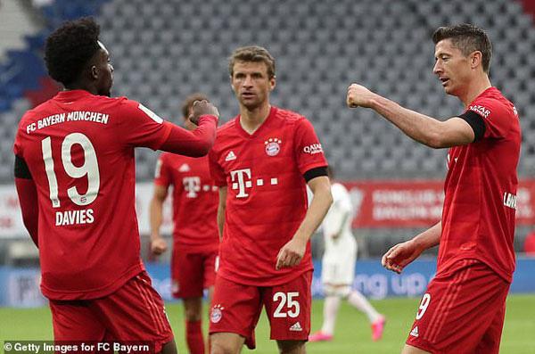 Bayern Munich đại thắng