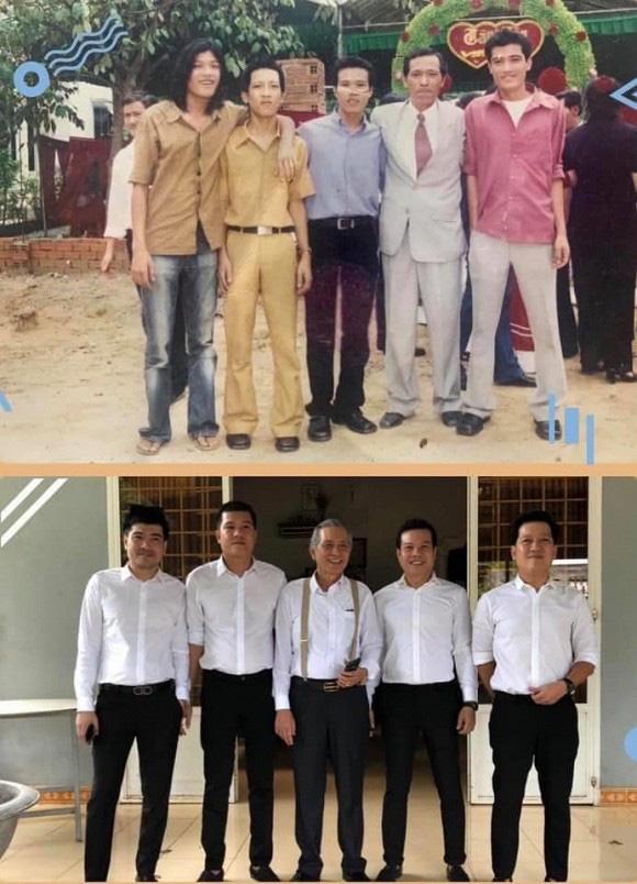 """Ảnh """"độc"""" Trường Giang gầy gò kém sắc hơn 20 năm trước vẫn được Nhã Phương khen """"chất"""" - Ảnh 1."""