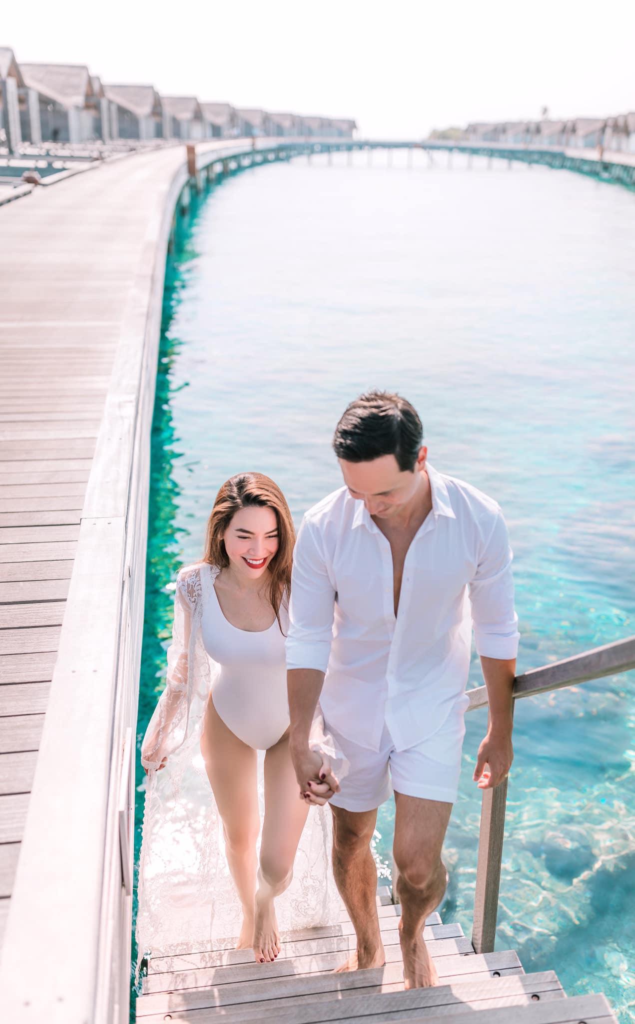 """Trước khi mang thai đôi, Hồ Ngọc Hà khen Kim Lý """"lên 9 tầng mây"""": Người cha tốt, biết điều - Ảnh 3."""