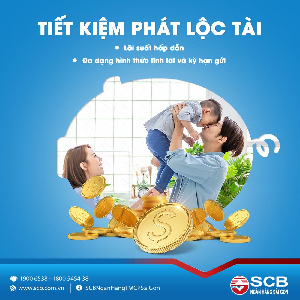 """SCB triển khai sản phẩm mới """"Tiết kiệm phát lộc tài"""" - Ảnh 1."""