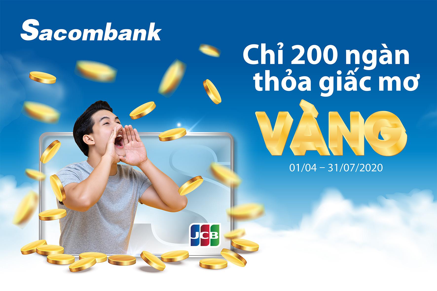 5 chủ thẻ Sacombank JCB đầu tiên trúng vàng 9999 - Ảnh 1.