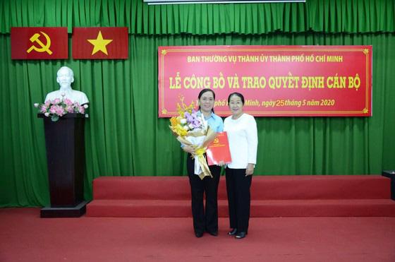 Bà Nguyễn Thanh Xuân giữ chức vụ Bí thư Đảng đoàn Hội Nông dân TP.HCM - Ảnh 1.