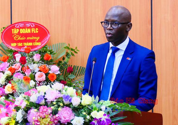 Ký kết khung hợp tác chiến lược giữa tỉnh Hà Giang với Ngân hàng thế giới - Ảnh 5.