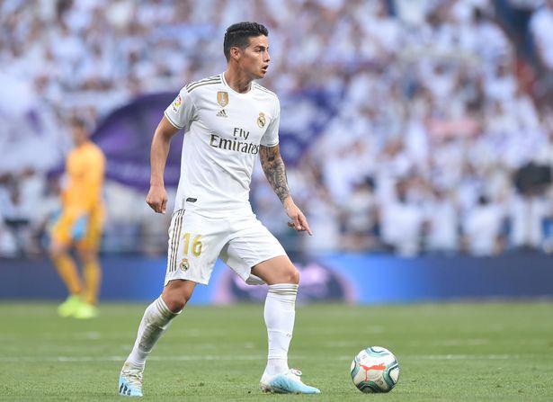 James Rodriquez tái hợp HLV Ancelotti?