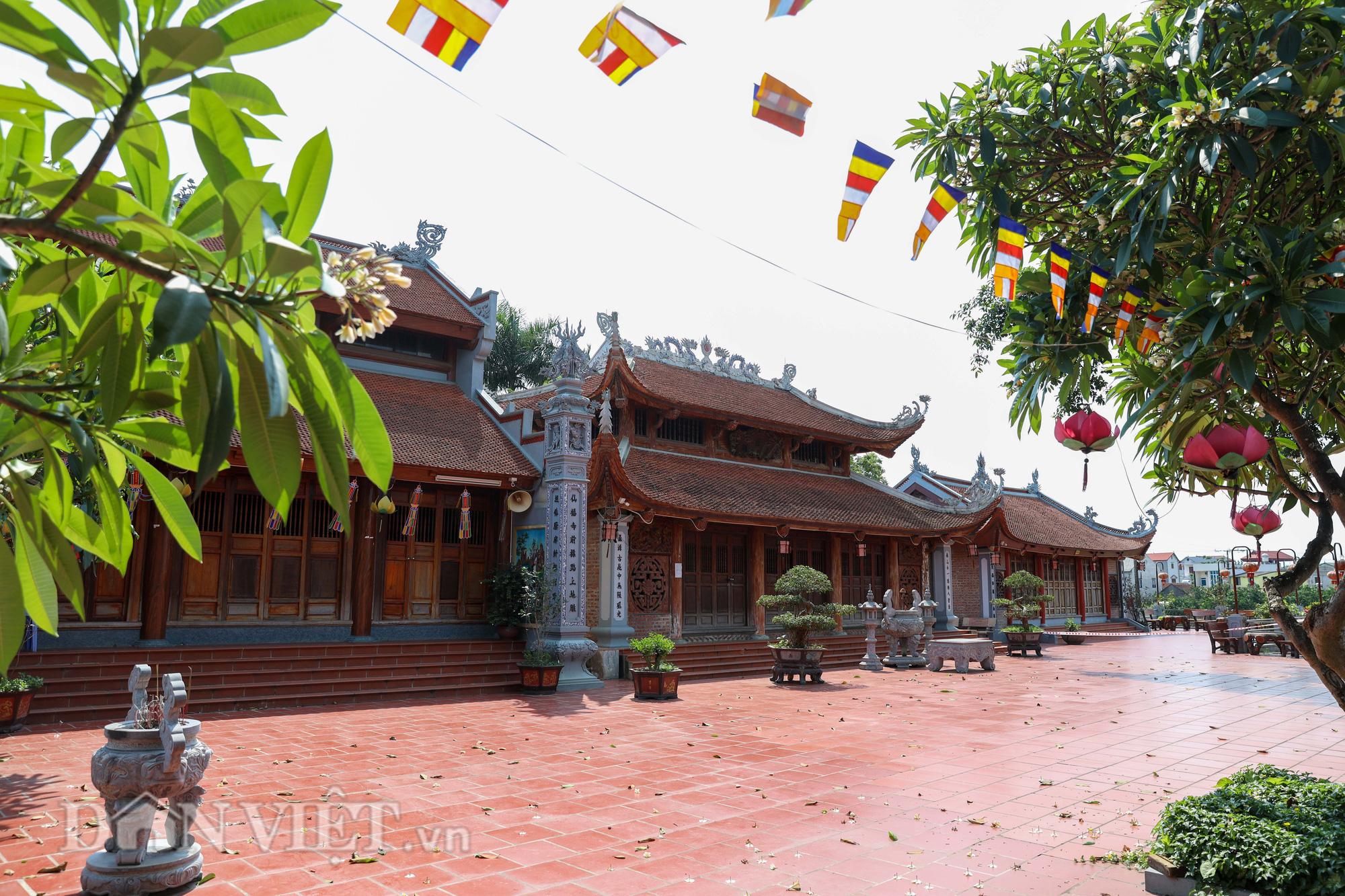 Đền Ba Voi ở Hà Nội bị đóng cửa vì sạt lở bờ sông - Ảnh 1.