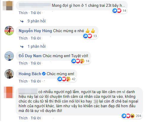 """Vừa giành giải """"Quả bóng bạc"""", Quang Hải và tình mới bị anti-fan xỉa xói - Ảnh 3."""