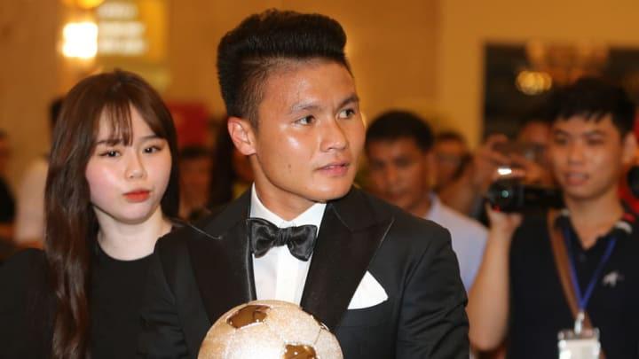 """Thực hư chuyện """"Quang Hải bật HLV Park Hang-seo"""" tại Gala Quả bóng vàng - Ảnh 1."""