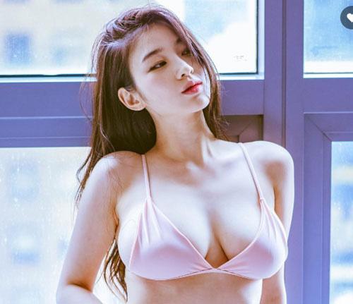 Buốt mắt vì vòng 1 của mỹ nhân yêu Son Heung-min và Việt Nam - Ảnh 8.