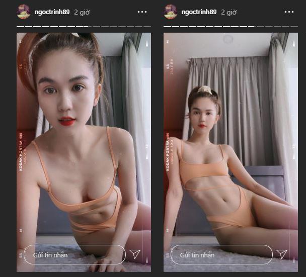 """Ngọc Trinh khiến fan """"mất máu"""" vì thân hình nuột nà, ngầm """"phản pháo"""" lời mỉa mai hẹn hò với tỷ phú - Ảnh 3."""