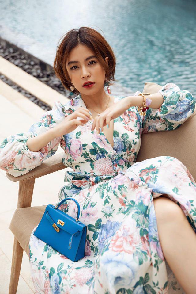 """""""Phớt lờ"""" ồn ào với Gil Lê, Hoàng Thùy Linh mặc bikini quyến rũ khoe dáng đẹp như tranh - Ảnh 3."""