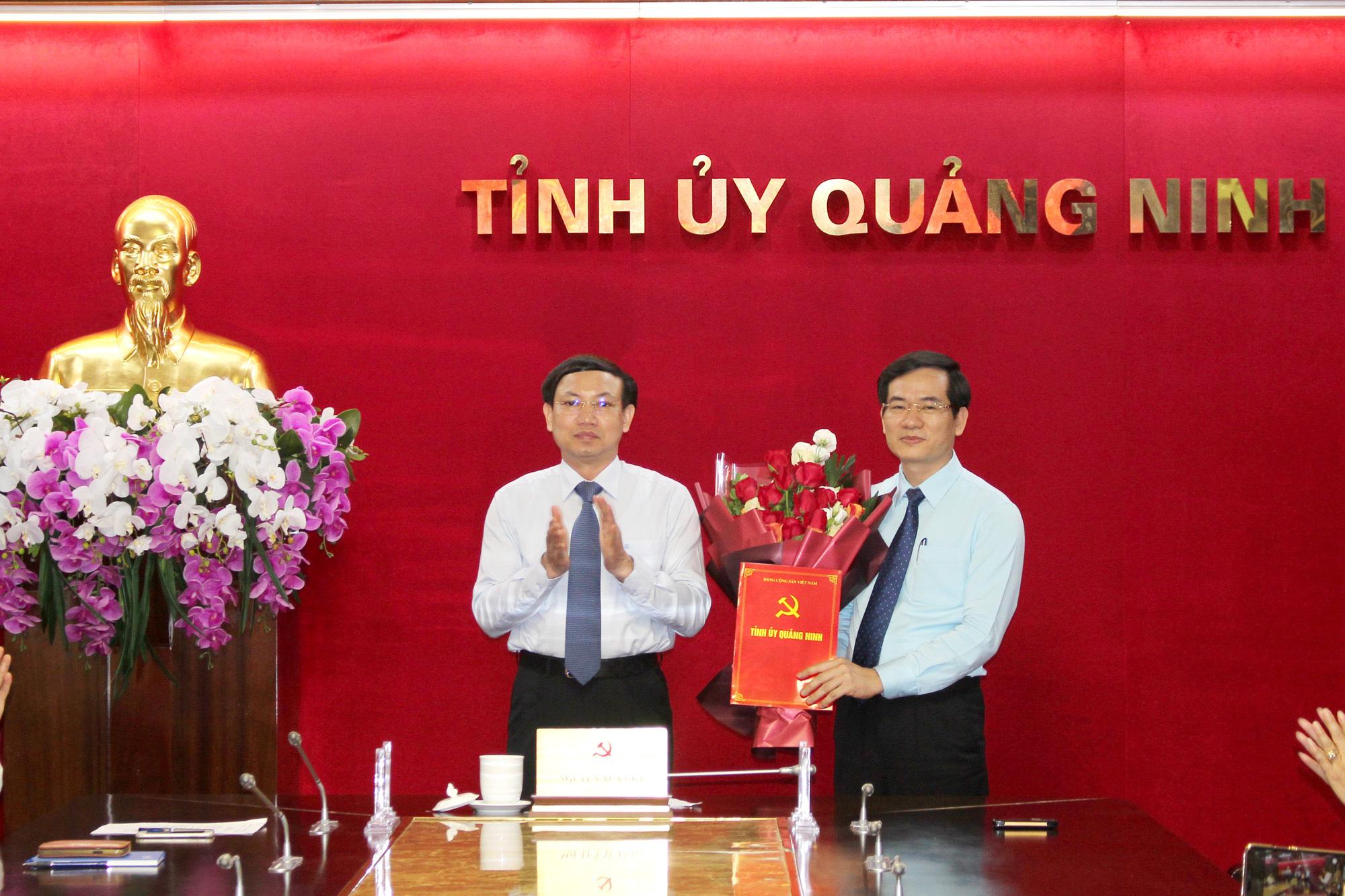 Quảng Ninh: Trưởng Ban Tổ chức Tỉnh ủy đồng thời là Giám đốc Sở Nội vụ - Ảnh 1.