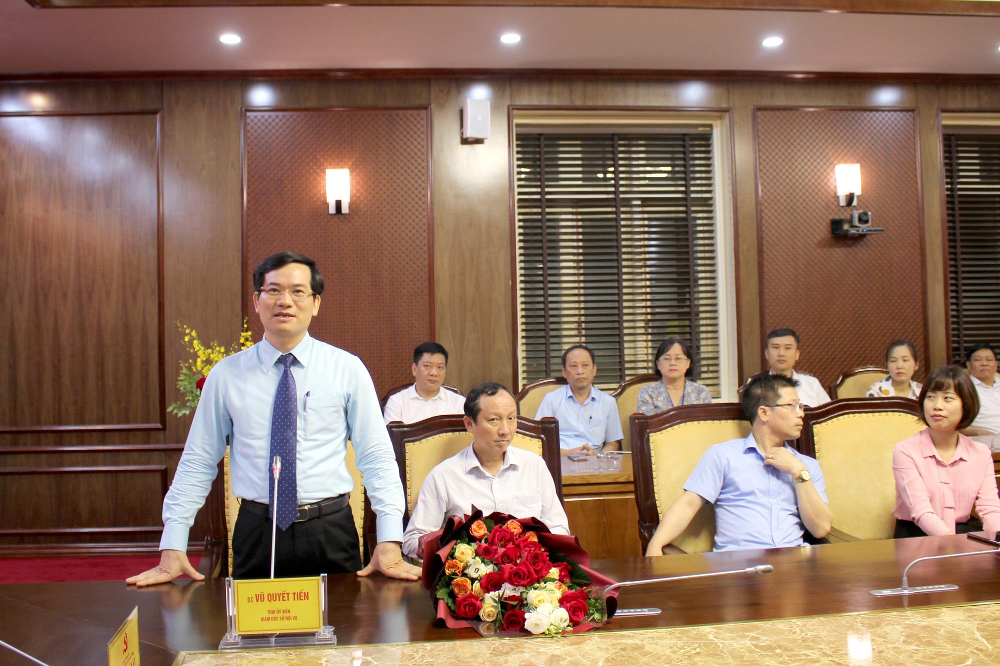 Quảng Ninh: Trưởng Ban Tổ chức Tỉnh ủy đồng thời là Giám đốc Sở Nội vụ - Ảnh 2.