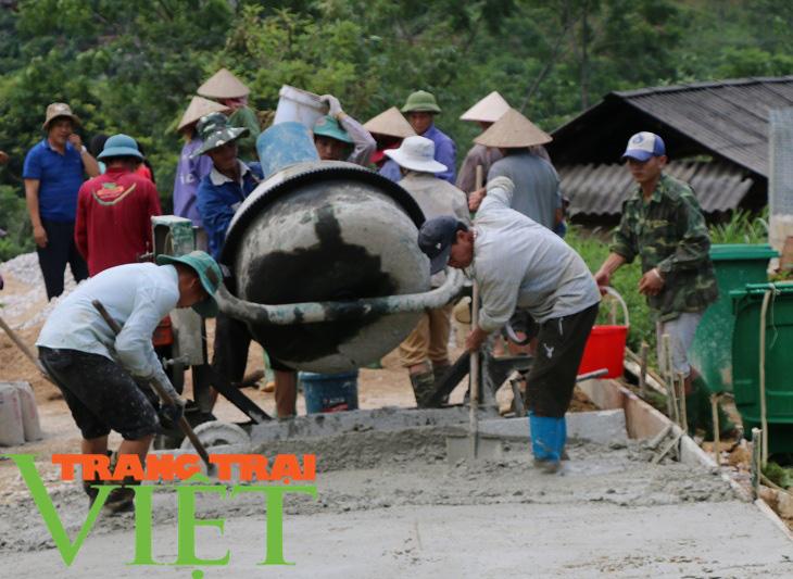 Vân Hồ xây dựng nông thôn mới gắn với phát triển kinh tế - xã hội - Ảnh 3.