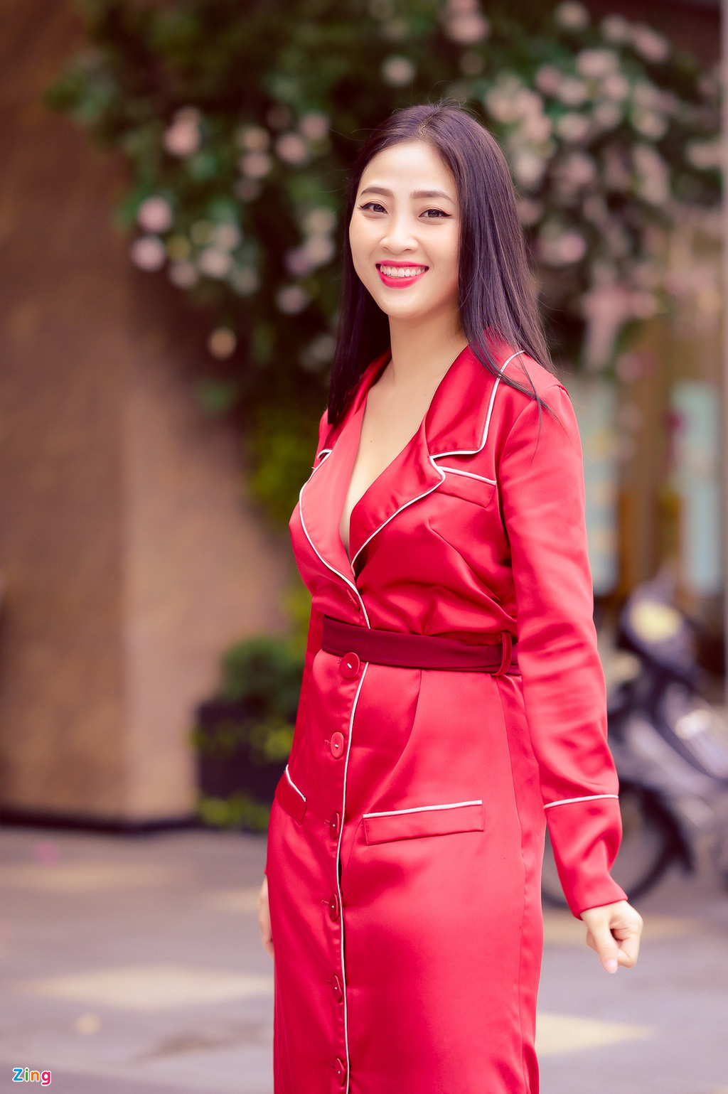 MC Lieu Ha Trinh: 'Toi va ban trai Tay quen nhau qua app hen ho' hinh anh 4 NGUYEN_BA_NGOC_ZING_8920.jpg