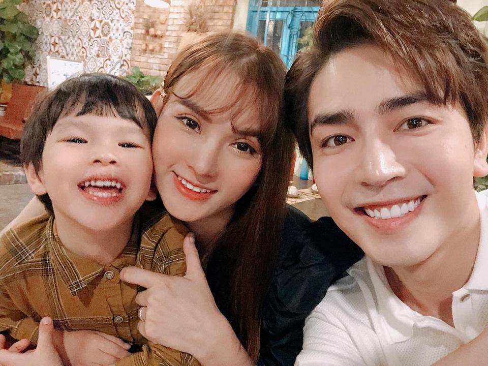 """""""Nghi vấn"""" nữ ca sĩ Thu Thủy mang thai với chồng trẻ Kin Nguyễn - Ảnh 1."""