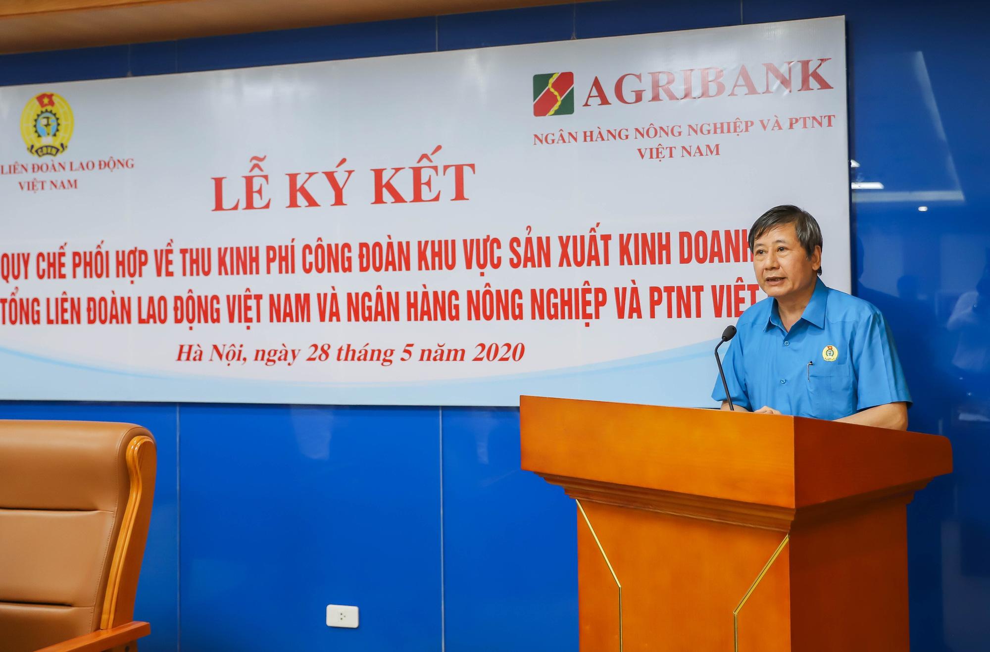Agribank và Tổng Liên đoàn Lao động Việt Nam ký kết Quy chế hợp tác toàn diện - Ảnh 2.