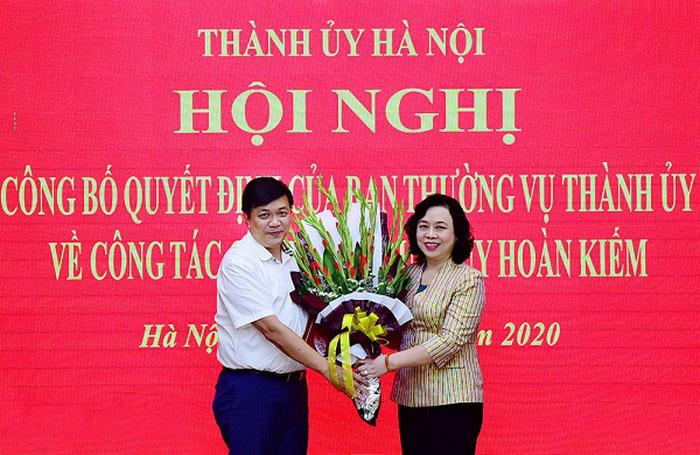 Chủ tịch UBND quận Hoàn Kiếm giữ chức vụ mới tại Ủy ban Kiểm tra Thành ủy Hà Nội - Ảnh 1.