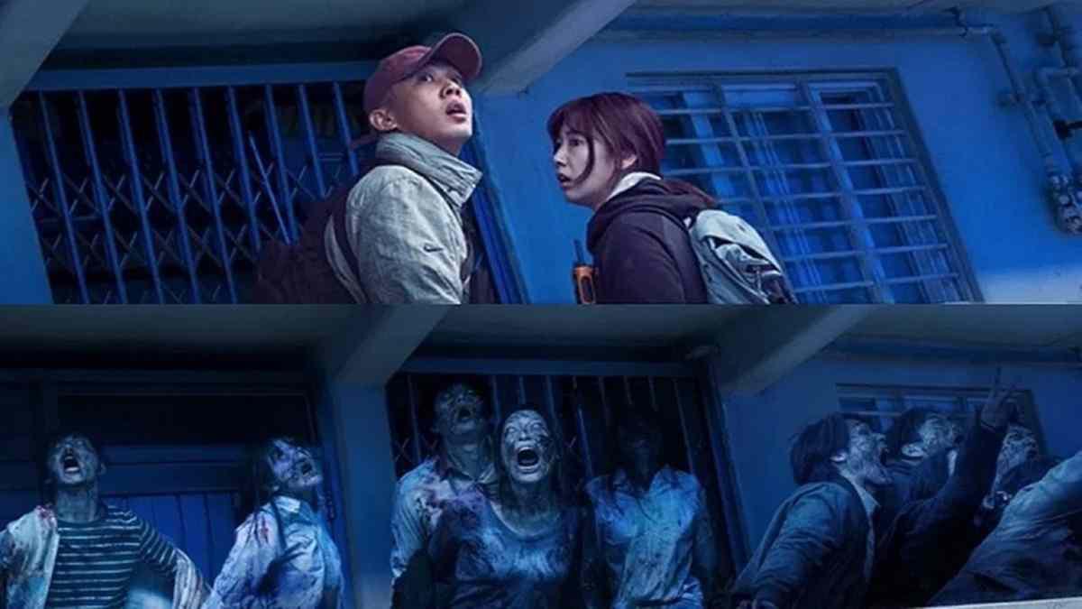 """Park Shin Hye và Yoo Ah In chiến đấu với zombie cực ngầu trong teaser kinh dị """"#ALIVE"""" - Ảnh 1."""