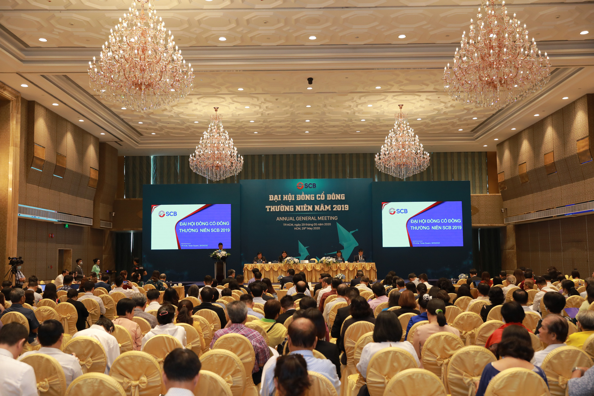SCB tổ chức thành công Đại hội đồng cổ đông thường niên năm 2019 - Ảnh 2.