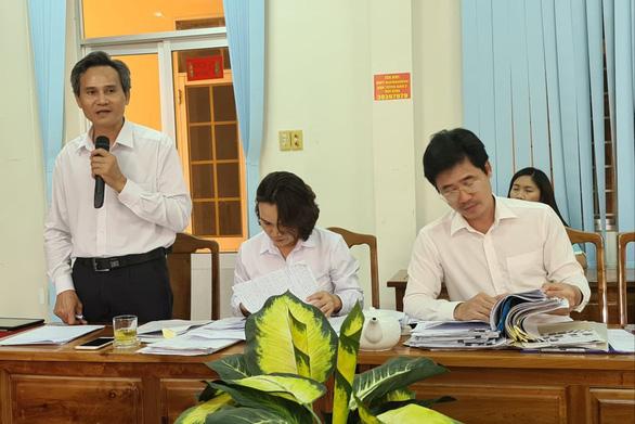 Bình Phước họp báo thông tin vụ ông Lương Hữu Phước nhảy lầu tử vong tại trụ sở TAND tỉnh - Ảnh 4.
