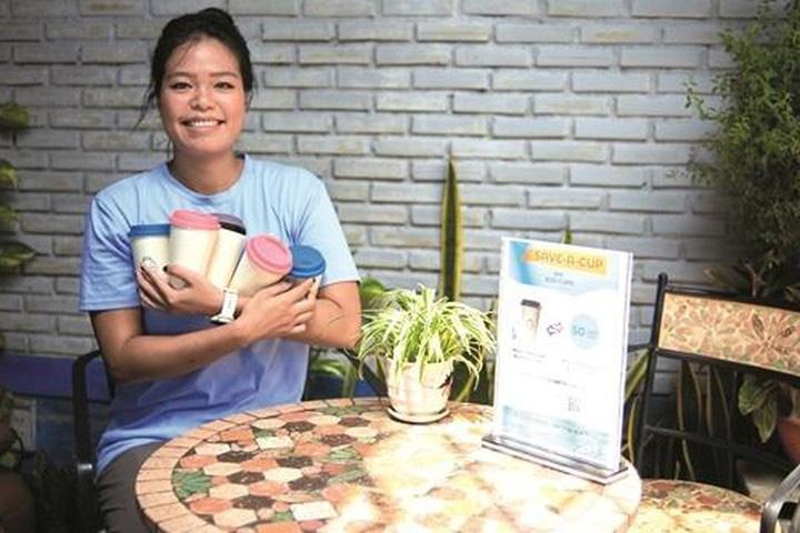 Startup AYA Cup cho mượn ly chiến thắng thử thách carbon thấp của UNEP - Ảnh 1.