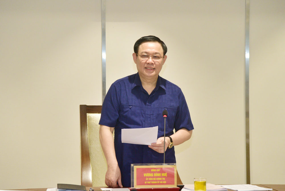 Nguyên lãnh đạo 96 tuổi góp ý kiến xây dựng ĐH Đảng bộ Hà Nội khóa mới - Ảnh 1.