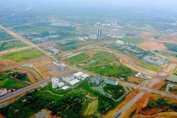Siêu đô thị Hòa Lạc được phê duyệt quy hoạch tỷ lệ 1/10.000 - Ảnh 1.