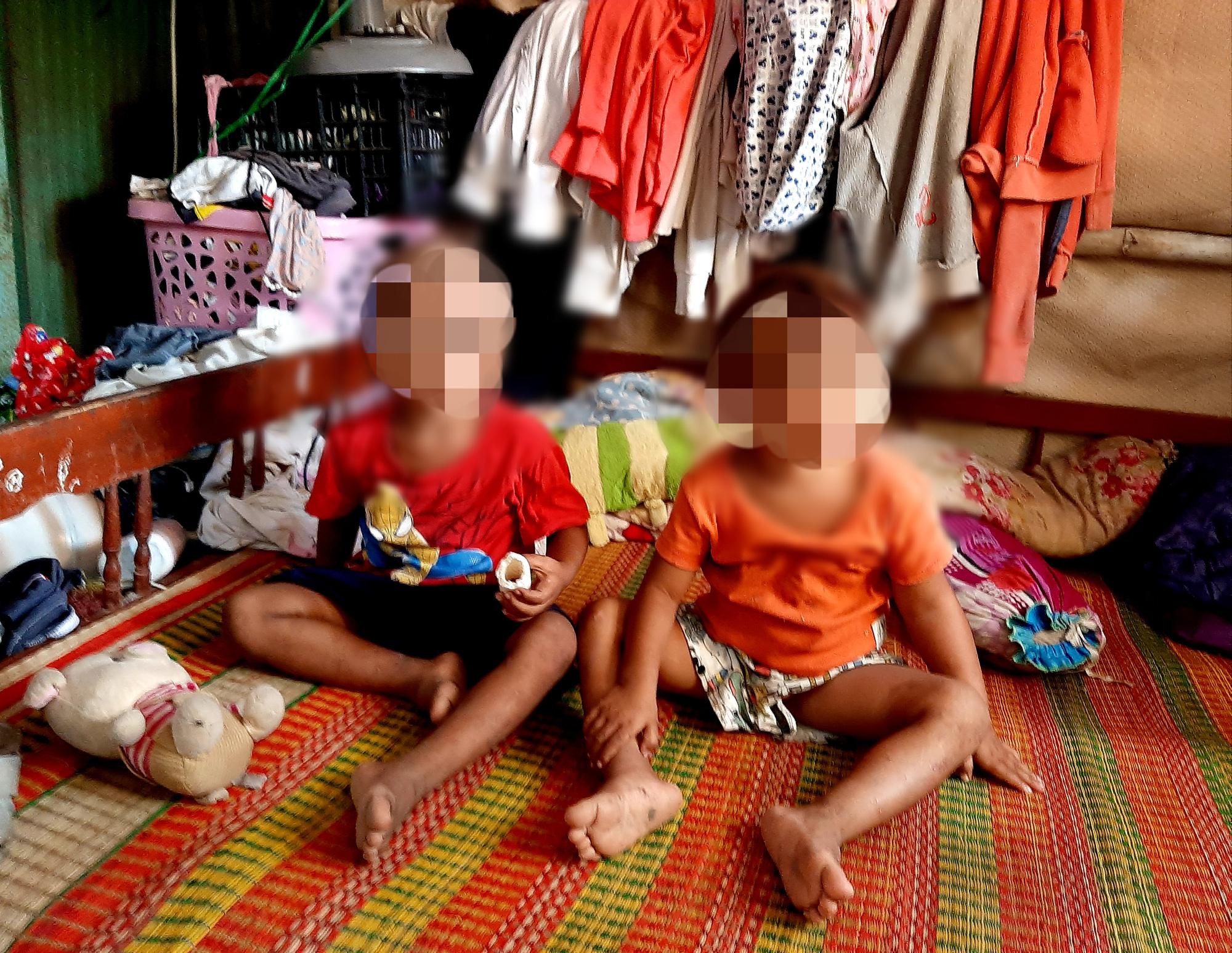 Gia cảnh khốn cùng của bé 6 tuổi bị cha bạo hành ở Sóc Trăng - Ảnh 4.