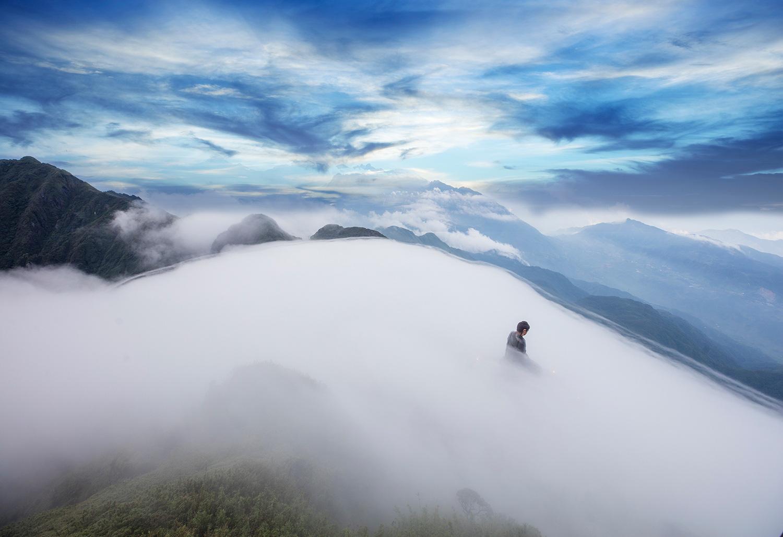Sa Pa huyền ảo dưới làn mây trắng - Ảnh 6.