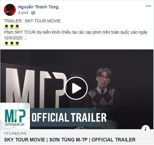 """Sơn Tùng MTP """"đánh úp"""" fan bằng trailer """"Sky Tour"""", lộ hình ảnh phải thở ô-xy vì kiệt sức - Ảnh 1."""