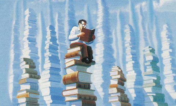 Thói quen đọc sách của người giàu khác người nghèo? - Ảnh 1.