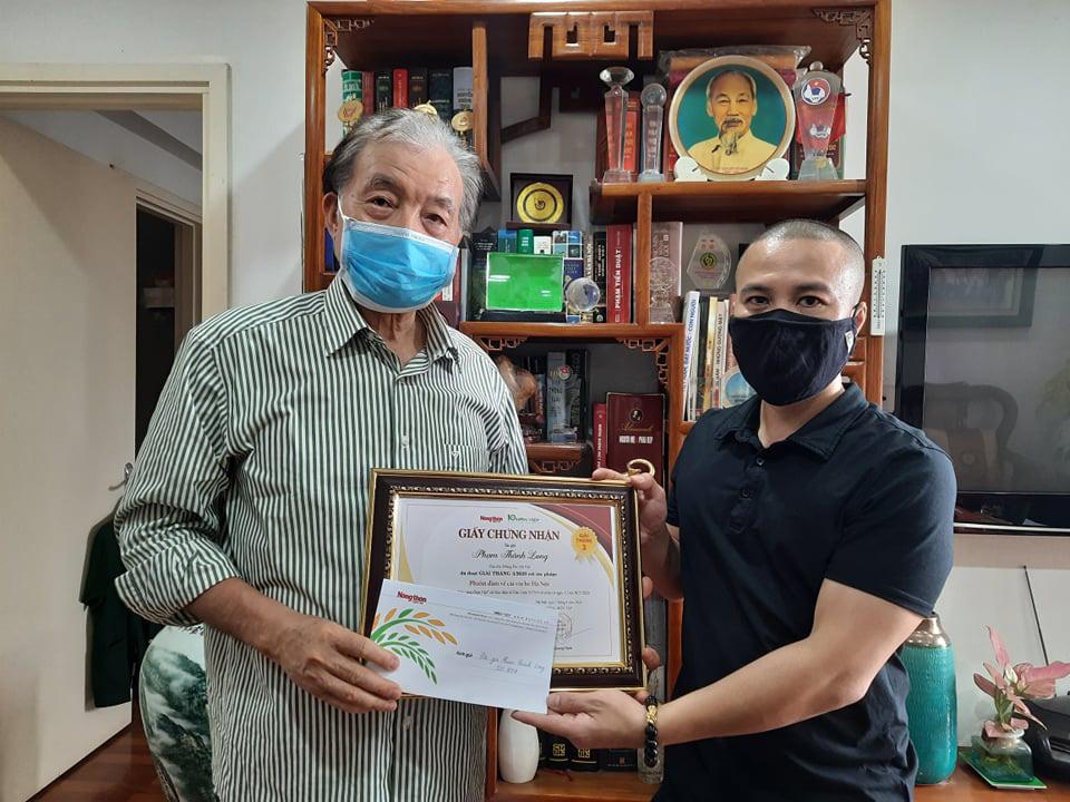 Trao giải cuộc thi Làm báo cùng Dân Việt tháng 3 - Ảnh 2.