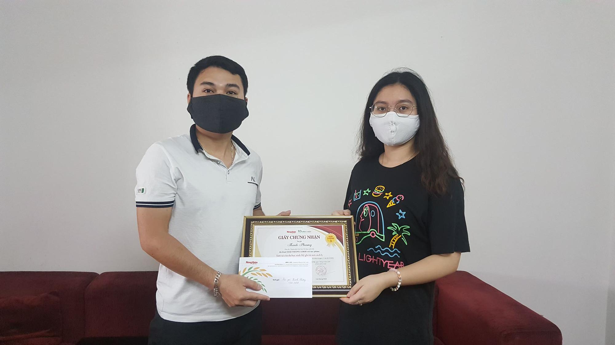 Trao giải cuộc thi Làm báo cùng Dân Việt tháng 3 - Ảnh 1.